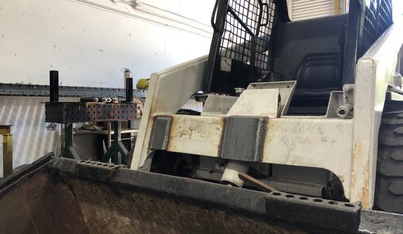 Bobcat Plate Reinforcement