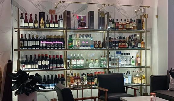 Kabooki Liquor Shelf