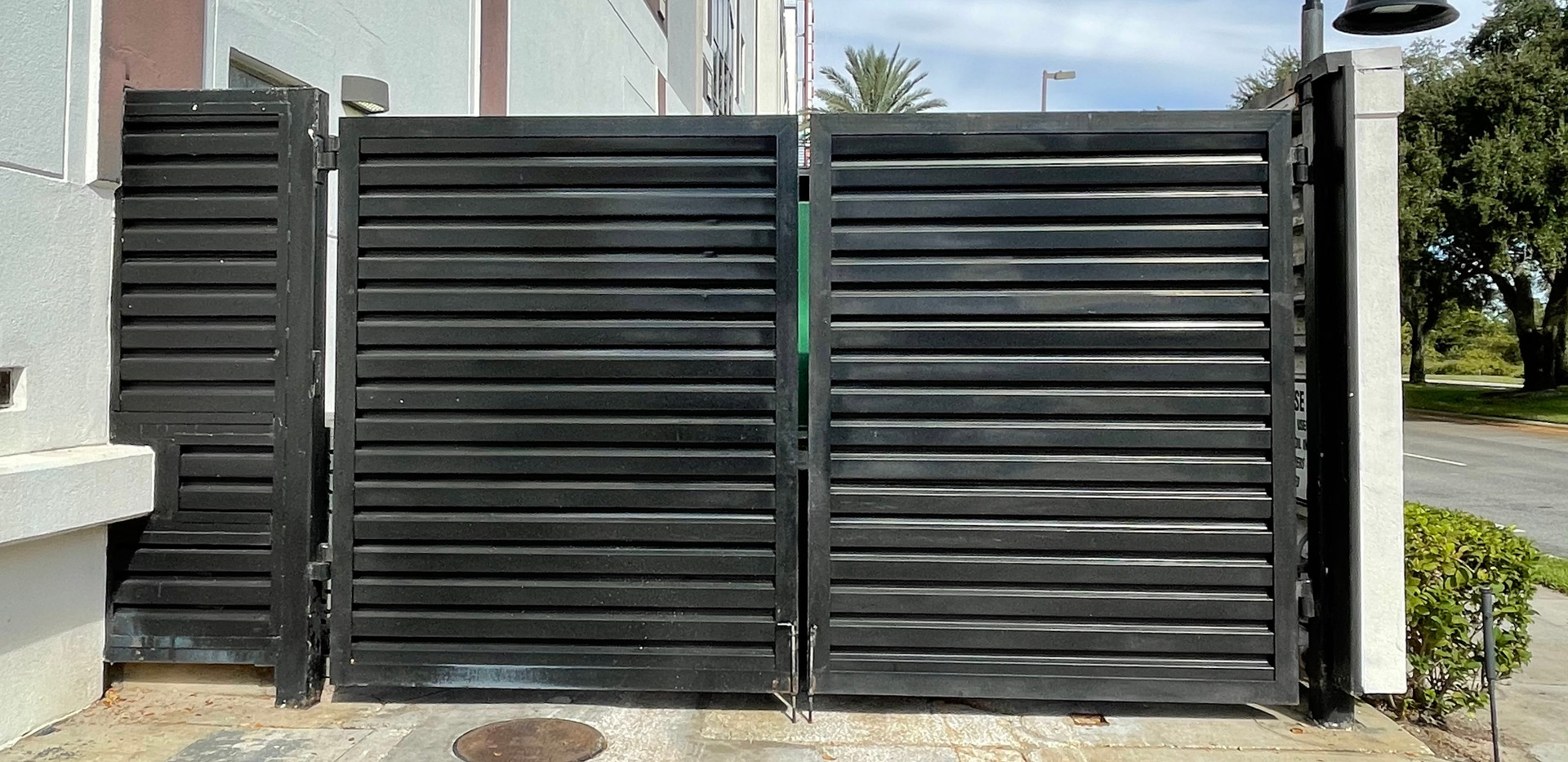 Brixmor Jumbo Dumpster Gates