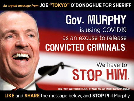 Atlantic County Sheriff candidate criticizes Governor Phil Murphy