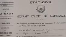 Communication des actes d'Etat civil (encore et toujours) en attente de l'Arrêté royal)