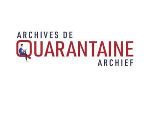 Archives de Quarantaine Archief (#AQA): Dossier COVID-19