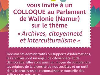 """JIA 2017 - """"Archives, citoyenneté et interculturalisme"""""""