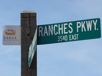 Ranches Parkway in Eagle Mountain, Utah