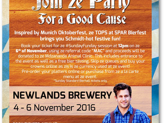 Bierfest Cape Town - Now you can enjoy this event while supporting Mdzananda!