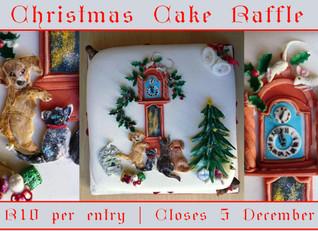 Christmas Cake Raffle