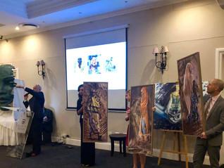 Pieces for Paws Charity Art Auction raises R100 000
