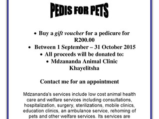 Pedicures for Pets