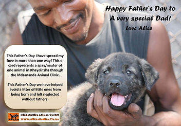 Fathers Day charity ecard