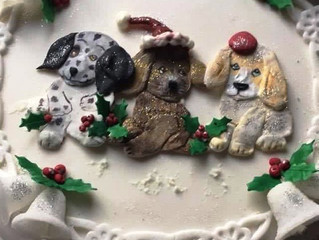Mouth watering, hand crafted Christmas Cake Raffle