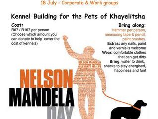 Mandela Day Kennel Building