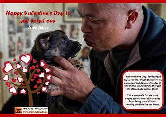 Valentine's Day Charity Ecard