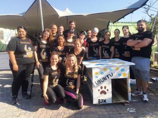 Mandela Day kennel building - lockdown edition