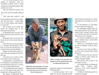 Cape Times - Unwanted animals need your help