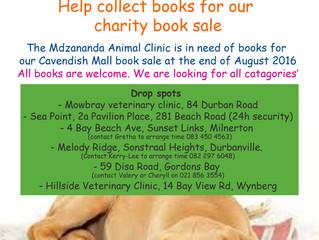 Books for Woofs Book Collection Drive