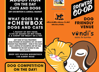 Pack a #Chewbox for a pet in need