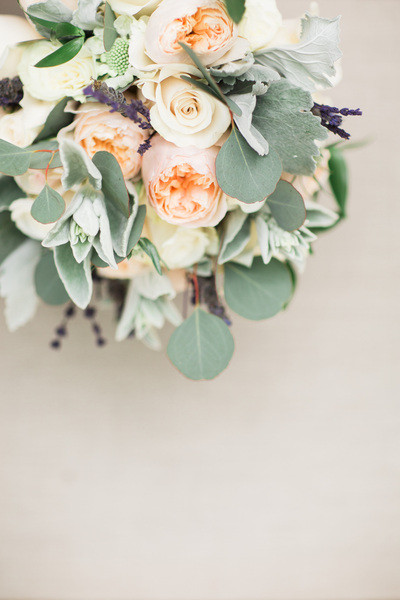 wedding floral, pastels