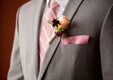 boutonniere, roses