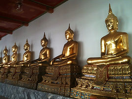 Buddhas from Wat Pho Temple, Thailand