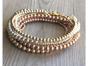 Minimal Stacking Bracelets