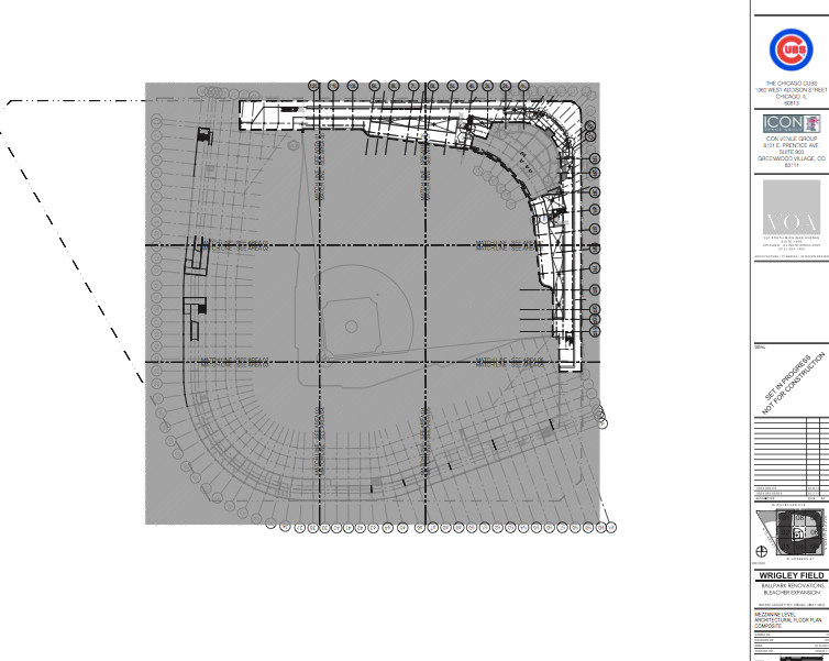 Architectural Drawings Wrigley Field