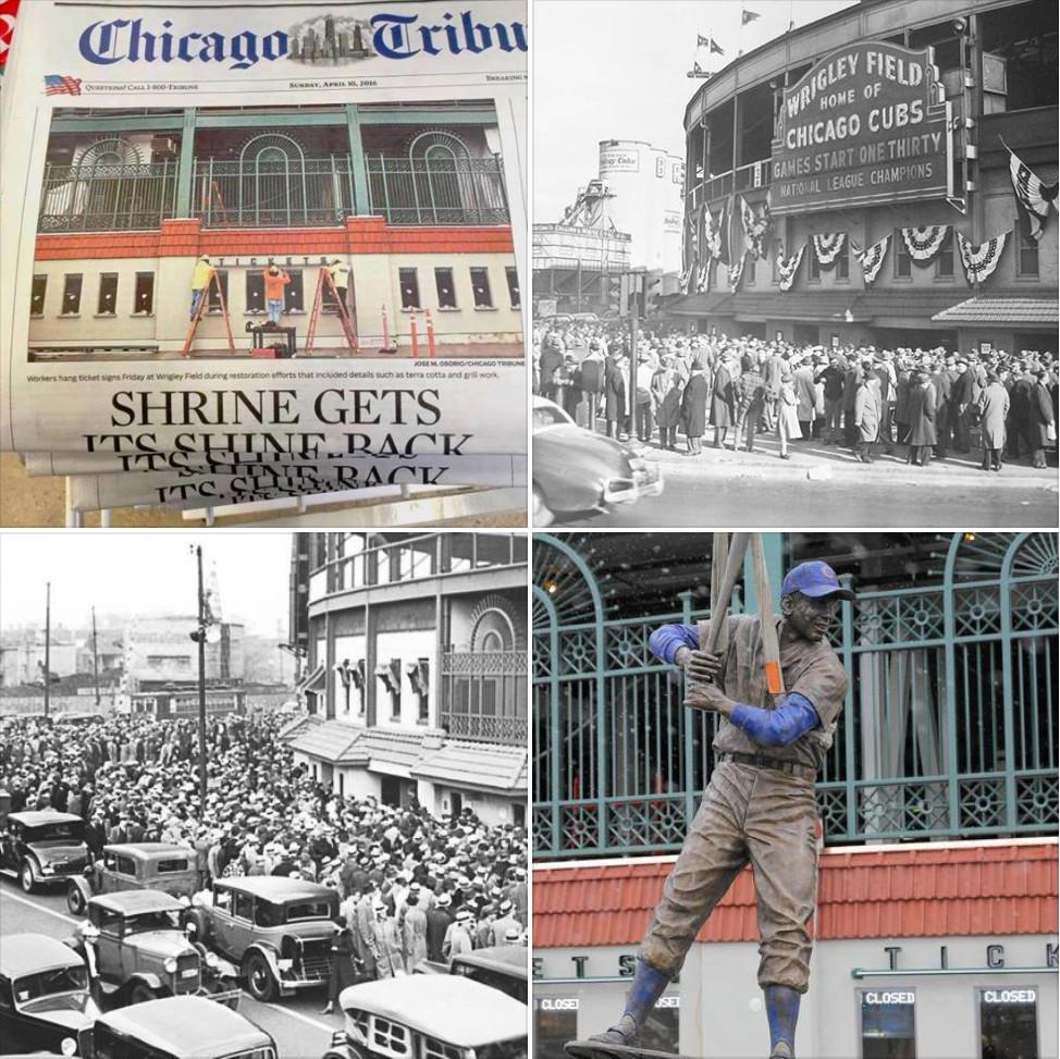 Chicago Tribune - Shrine Gets Its Shine Back