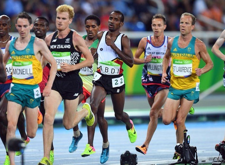 10 quick fire questions with runner David McNeill - two time Australian olympian