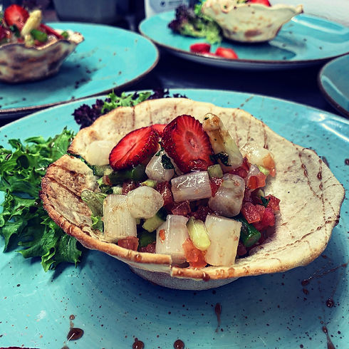 Shirazi-Spargel-Erdbeere