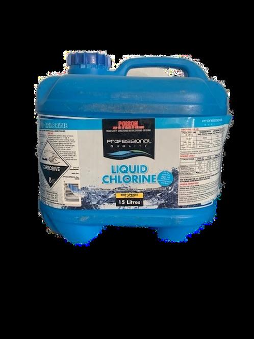 Liquid Chlorine 15L