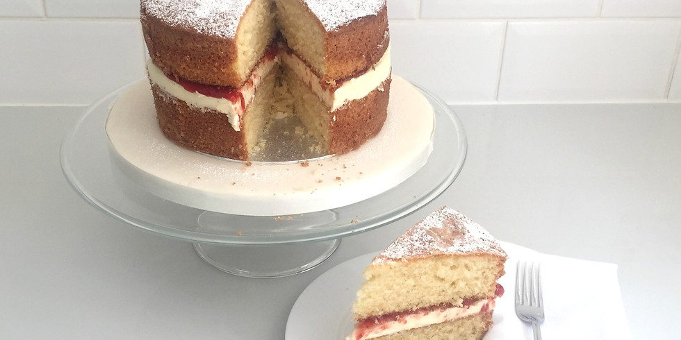 How to make the perfect Victoria Sponge 8 October 2020