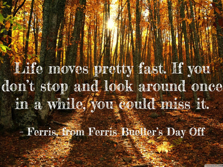 Breathe: Life moves fast