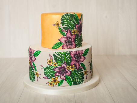 Styled Shoots: Tropical Florals