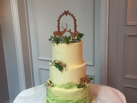 Beautiful woodland wedding