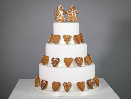 DIY wedding cake: Warm and cosy gingerbread