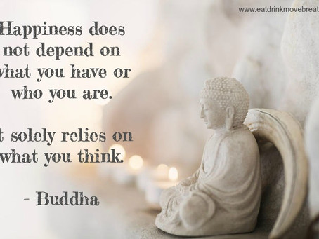 Breathe: Buddha's thoughts on happiness