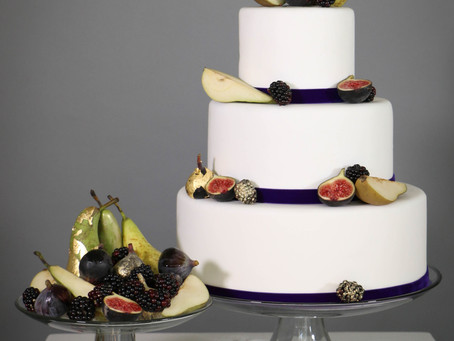 DIY wedding cake: Indulgent Autumn
