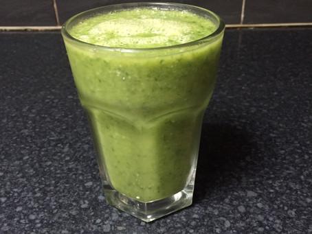 Drink: My green goddess smoothie