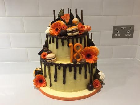 The Chocolate Orange Junkyard cake