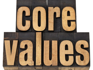 My 5 Core Values