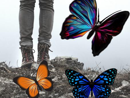 A opressão psicológica e o nascer da borboleta