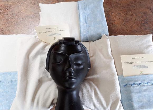 Buckwheat Pillow with case/Oreiller en sarrasin avec sus d'oreiller