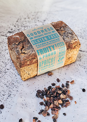 Apricot, Raisin and Poppy Seed 'Fruity and Proud'