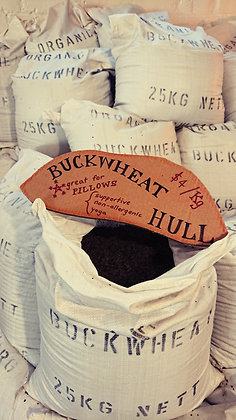 Buckwheat Hull for Yoga Pillows - Price Per 10 kg sack