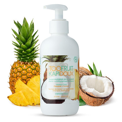 Kapidoux Shampooing Ananas- Coco Toofruit