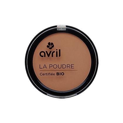 Poudre compact Cuivré certifié Bio - Avril