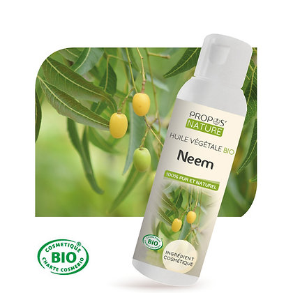Neem-Huile Végétale Pure- 100ml-Prospos'Nature