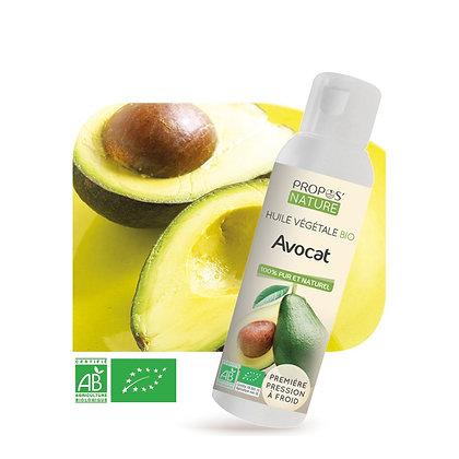 Huile Végétale Vierge d'Avocat Bio-100ml - Propos'Nature