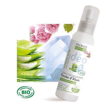 Déodorant Spray Rosée d'Alun Bio 100ml - Propos'Nature