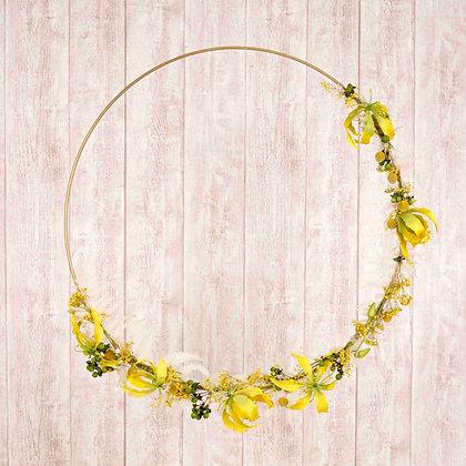 """Flower Loop """"Yellow Exotic"""""""