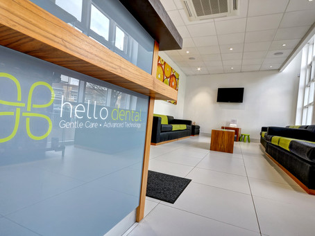 Dentist Direct Colchester Rebrand to Hello Dental